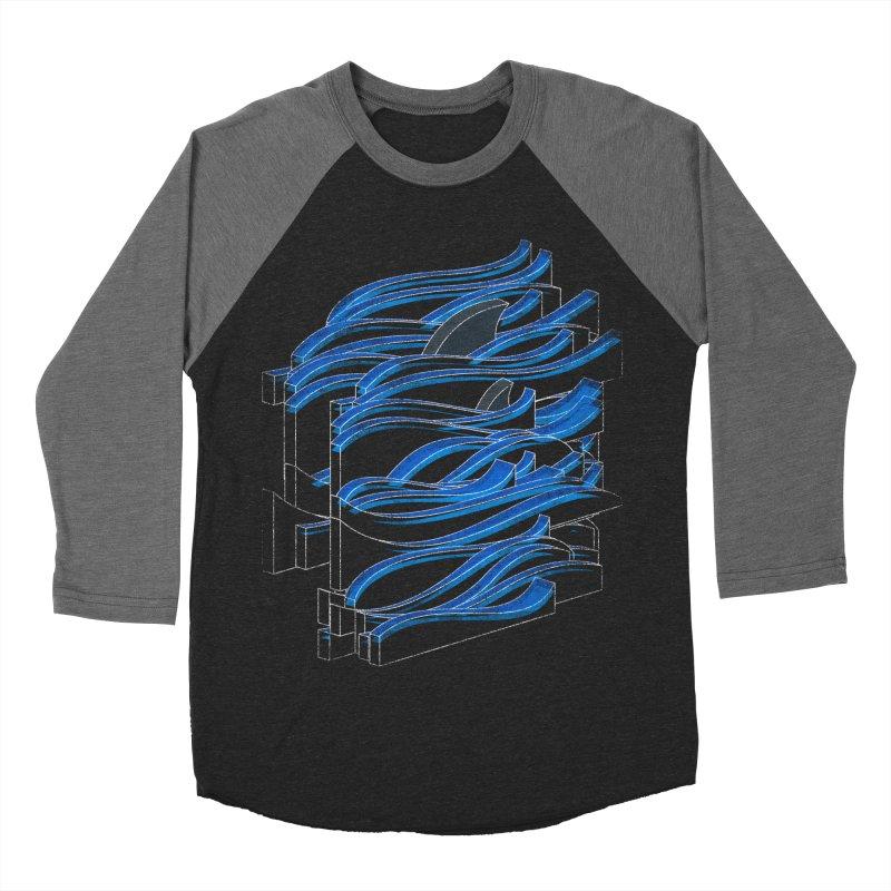 Fins Women's Baseball Triblend T-Shirt by bulo