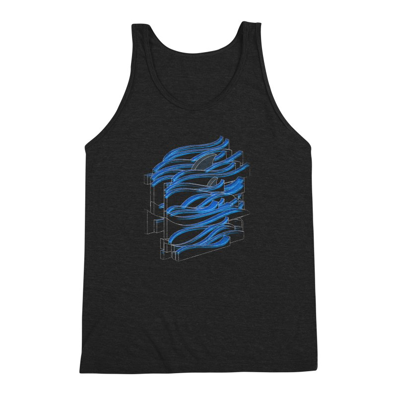 Fins Men's Triblend Tank by bulo