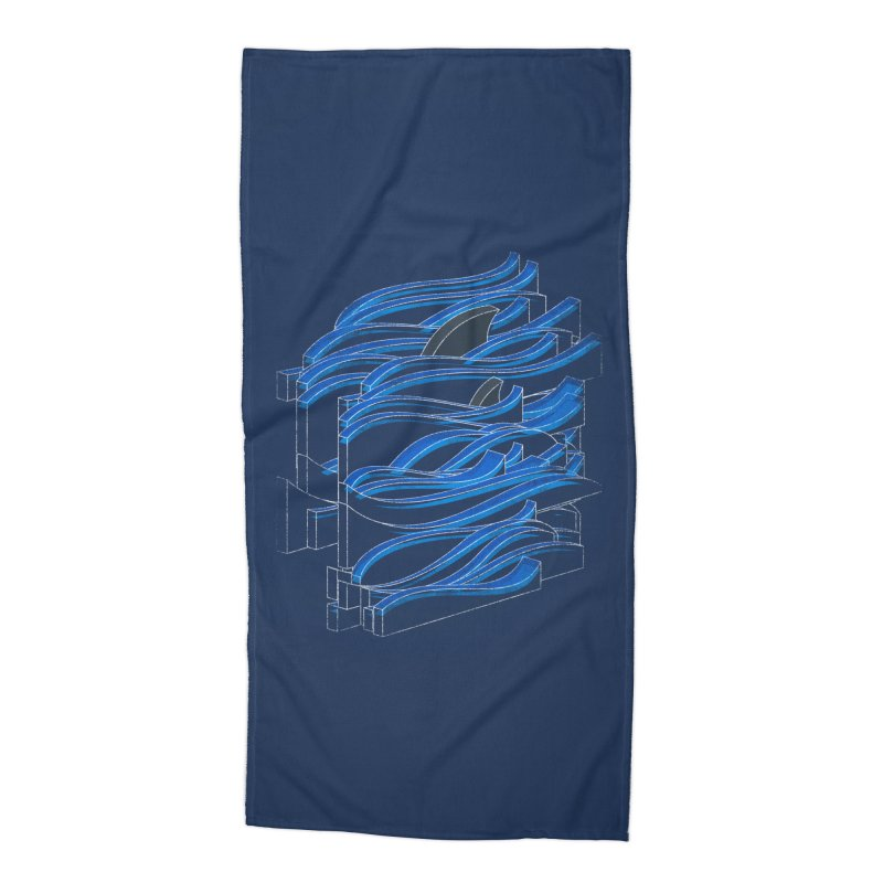 Fins Accessories Beach Towel by bulo