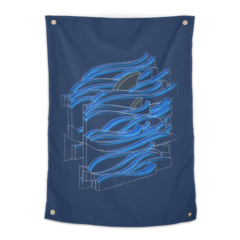 Fins Home Tapestry by bulo