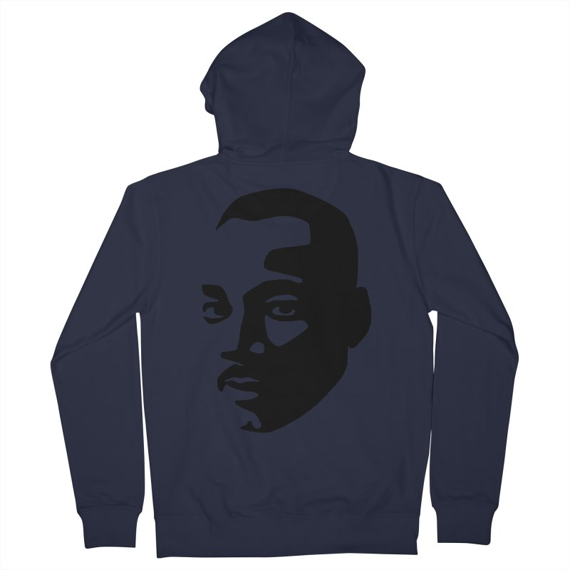 MLK Men's Zip-Up Hoody by bulo