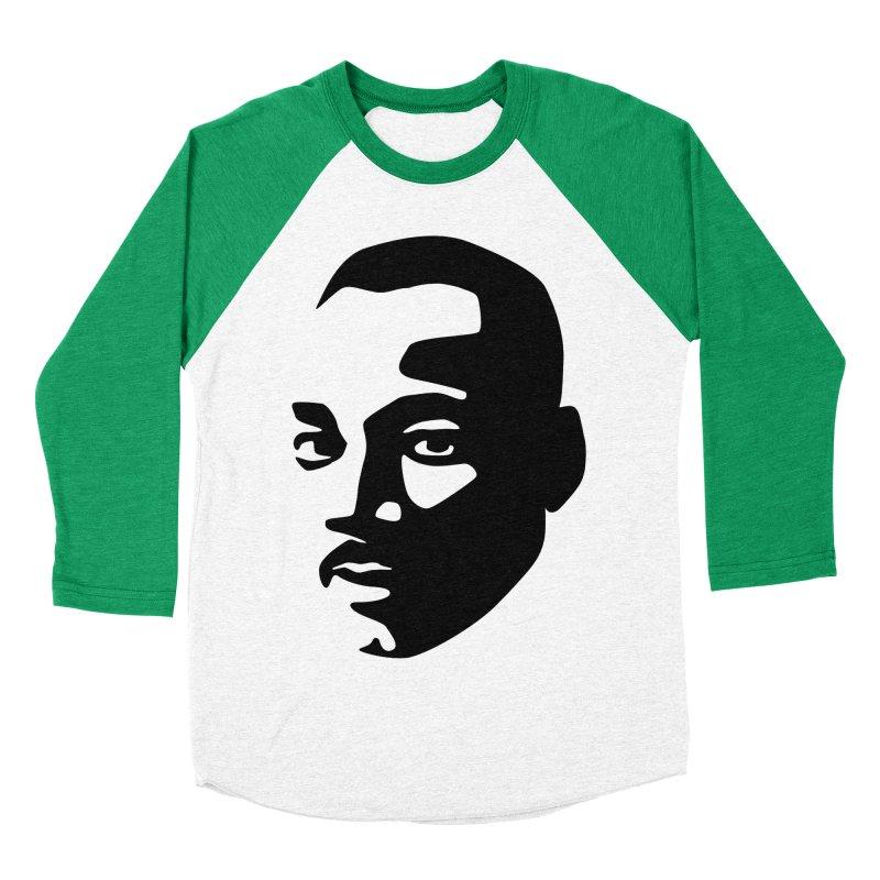 MLK Women's Baseball Triblend T-Shirt by bulo