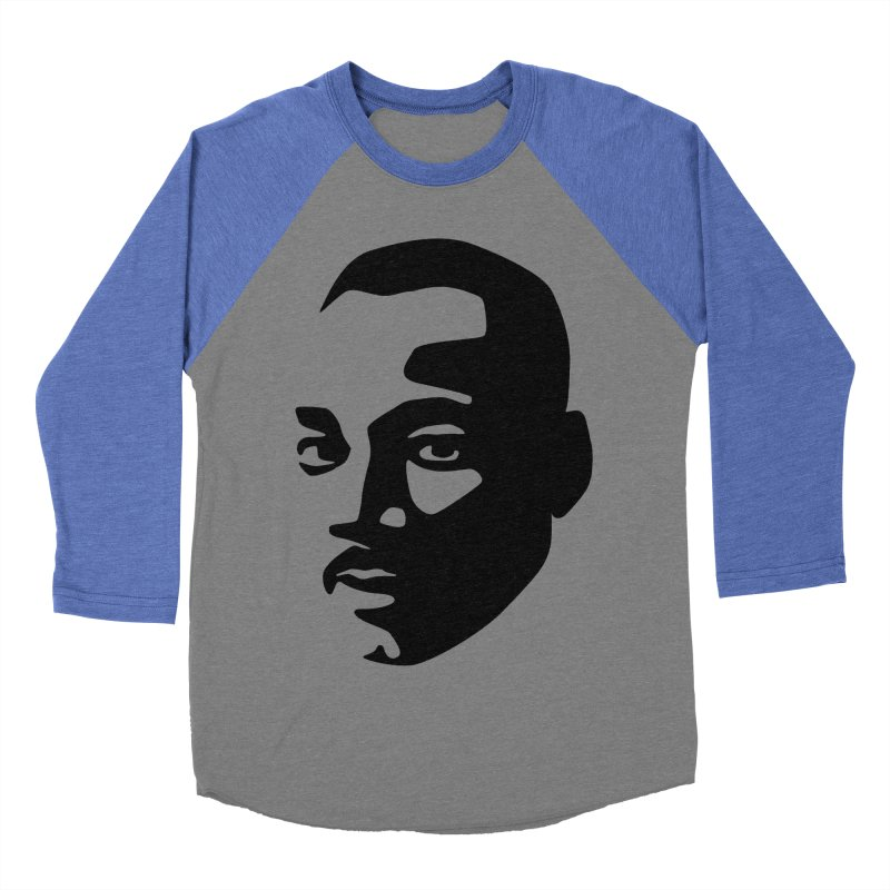 MLK Women's Baseball Triblend Longsleeve T-Shirt by bulo