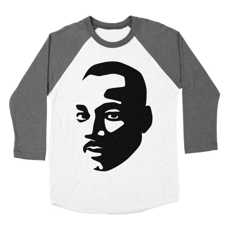 MLK Men's Baseball Triblend Longsleeve T-Shirt by bulo