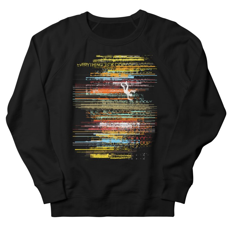Insomnia Men's French Terry Sweatshirt by bulo