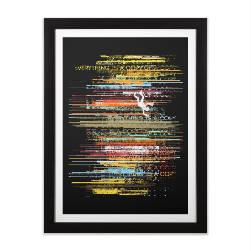 Insomnia Home Framed Fine Art Print by bulo