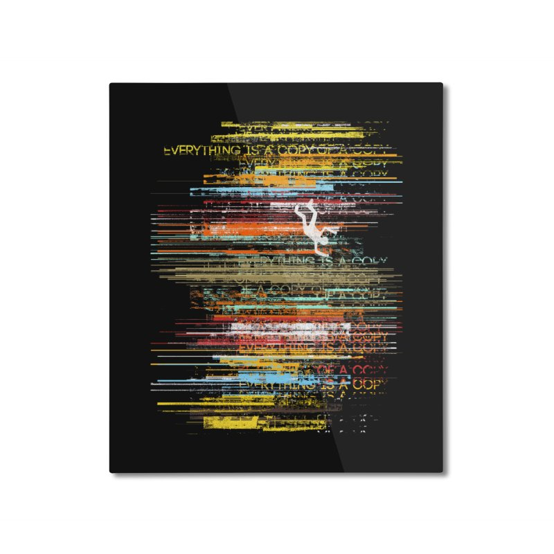 Insomnia Home Mounted Aluminum Print by bulo