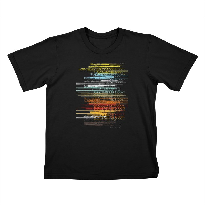 Insomnia Kids T-Shirt by bulo