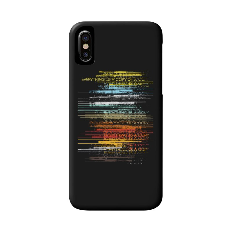 Insomnia Accessories Phone Case by bulo