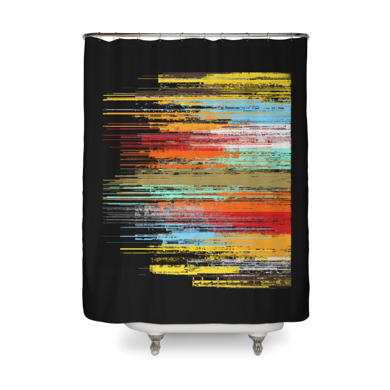 Fusion Home Shower Curtain by bulo