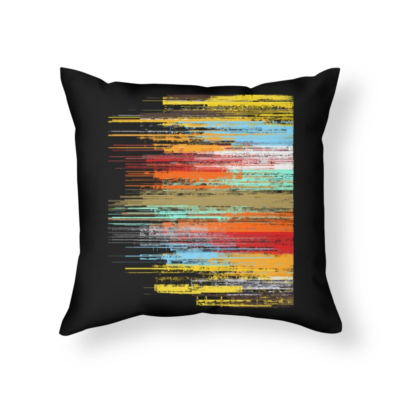 Fusion Home Throw Pillow by bulo