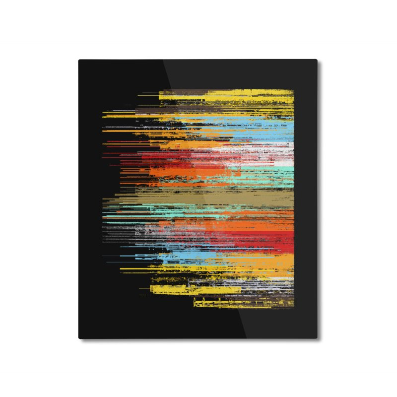 Fusion Home Mounted Aluminum Print by bulo