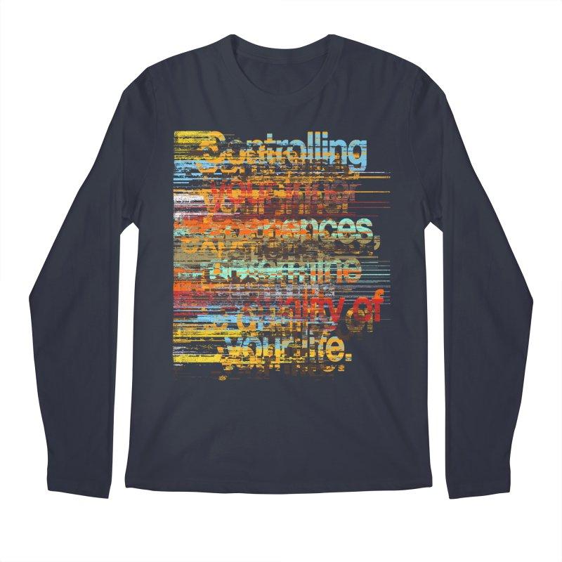 Distortion Men's Regular Longsleeve T-Shirt by bulo