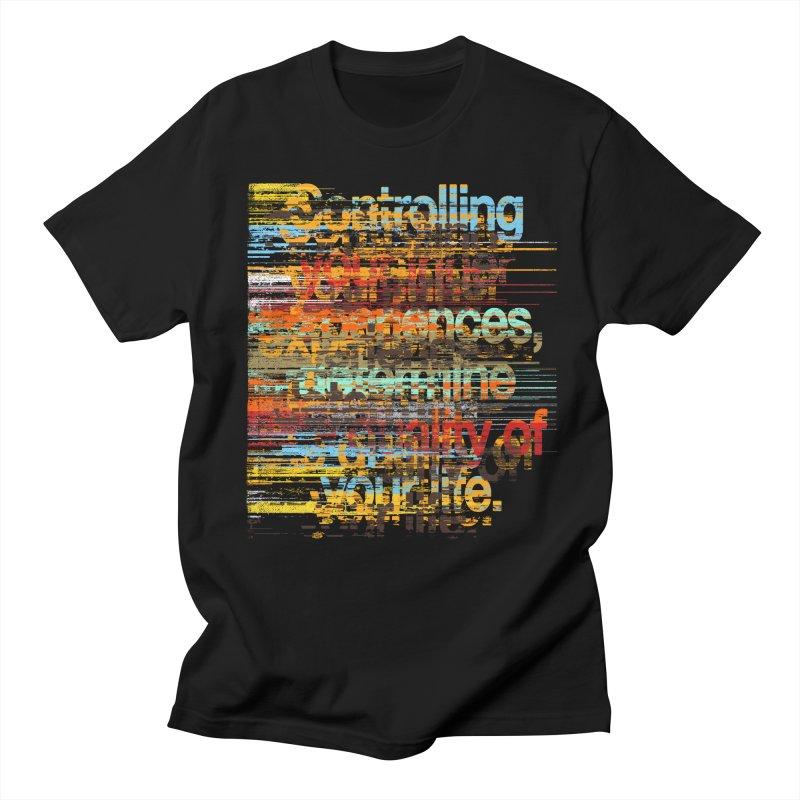 Distortion Women's Regular Unisex T-Shirt by bulo