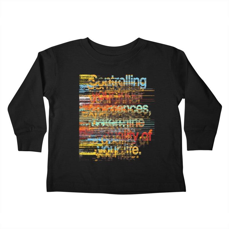 Distortion Kids Toddler Longsleeve T-Shirt by bulo