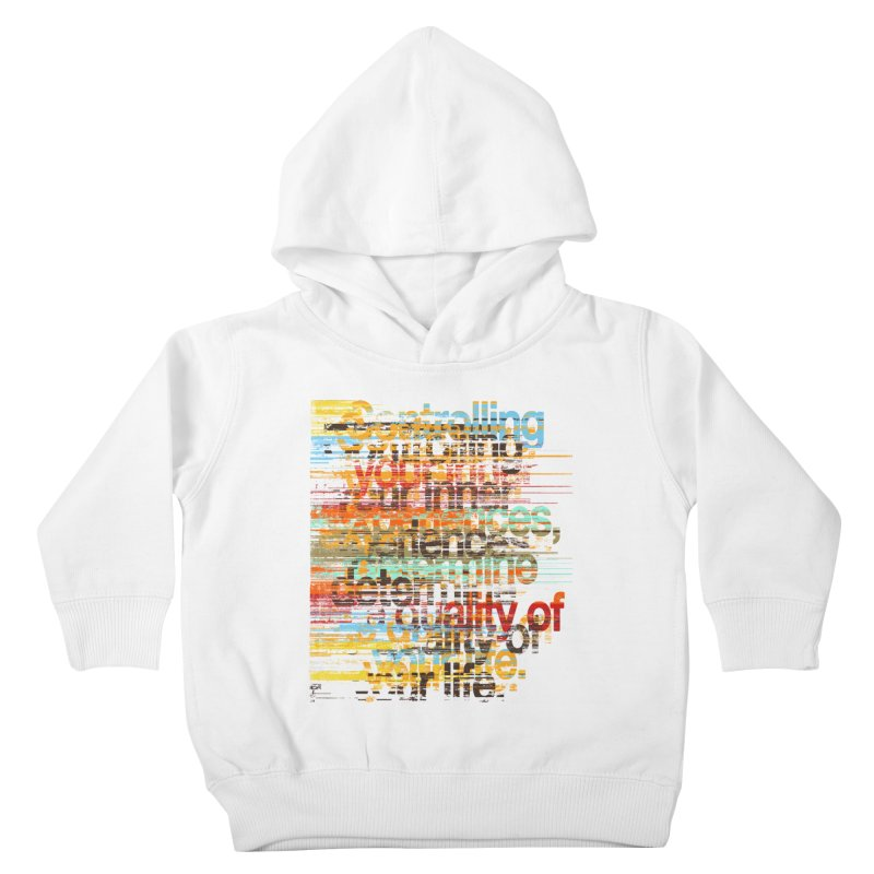 Distortion Kids Toddler Pullover Hoody by bulo