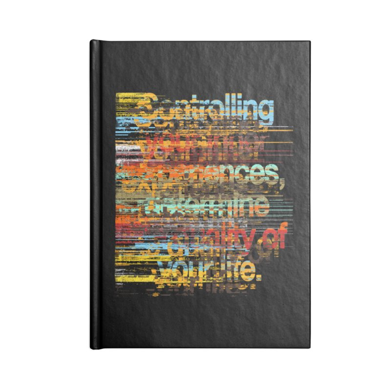 Distortion Accessories Notebook by bulo