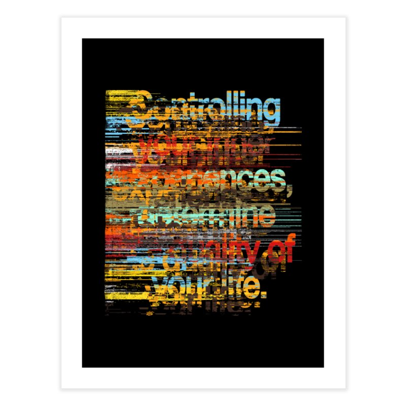 Distortion Home Fine Art Print by bulo