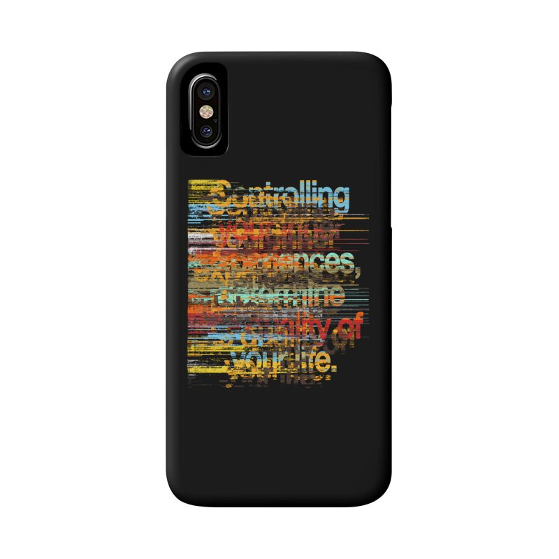 Distortion Accessories Phone Case by bulo