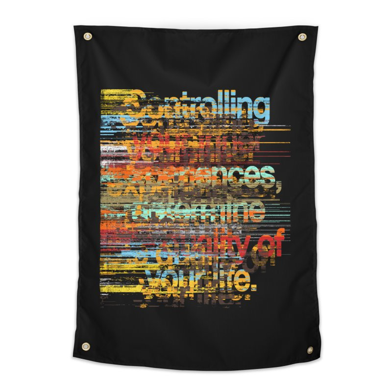 Distortion Home Tapestry by bulo