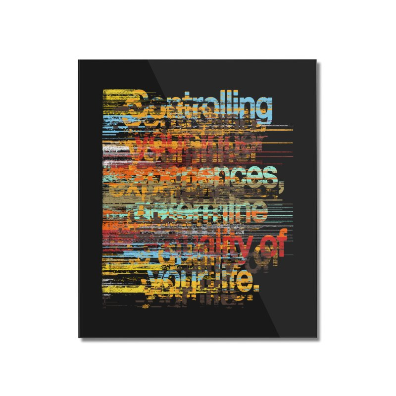 Distortion Home Mounted Acrylic Print by bulo