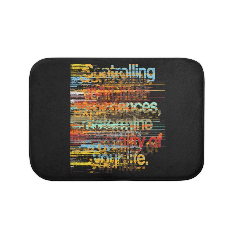 Distortion Home Bath Mat by bulo