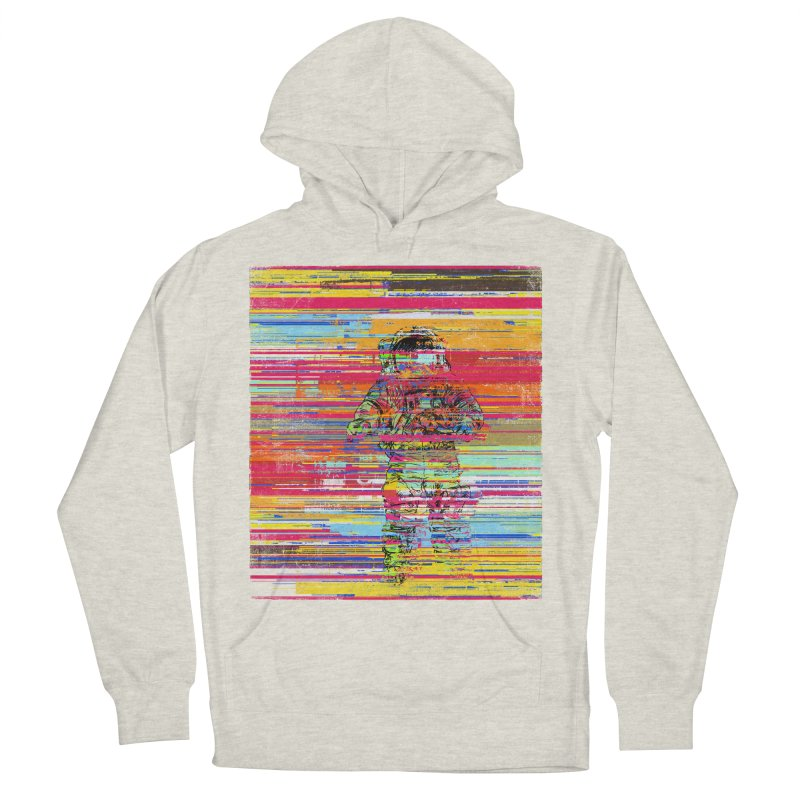 Walk On Moon Men's French Terry Pullover Hoody by bulo