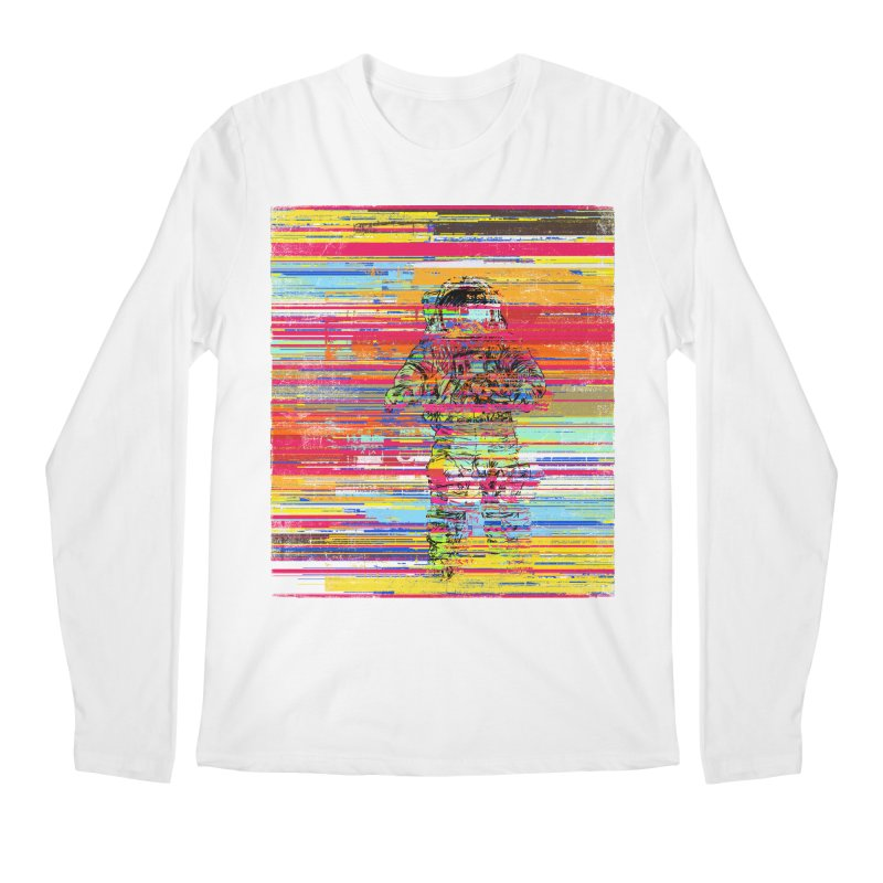 Walk On Moon Men's Regular Longsleeve T-Shirt by bulo