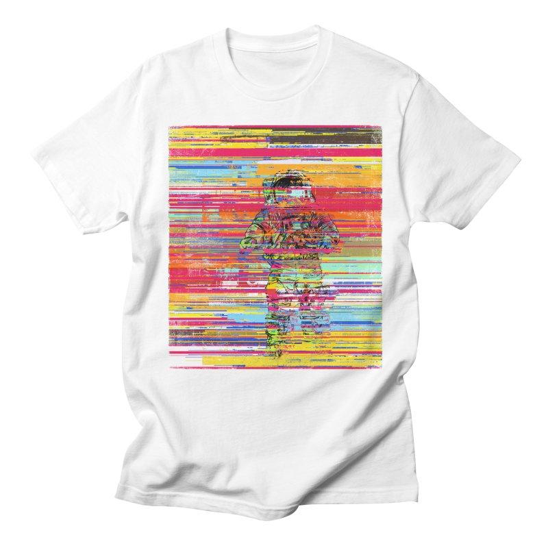 Walk On Moon Men's Regular T-Shirt by bulo
