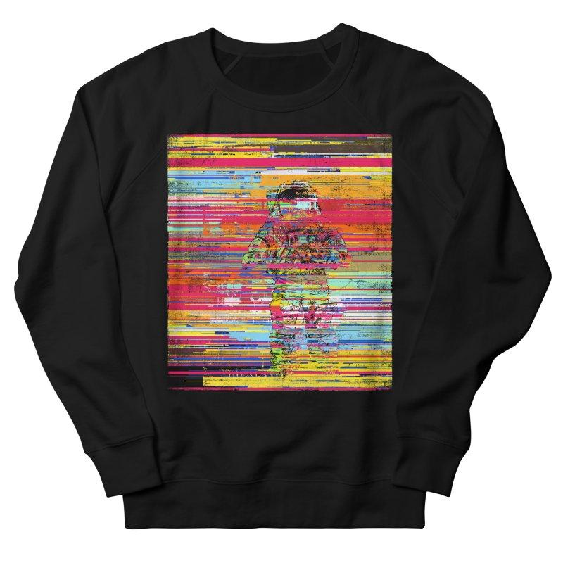 Walk On Moon Women's French Terry Sweatshirt by bulo