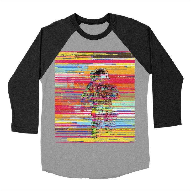 Walk On Moon Women's Baseball Triblend T-Shirt by bulo