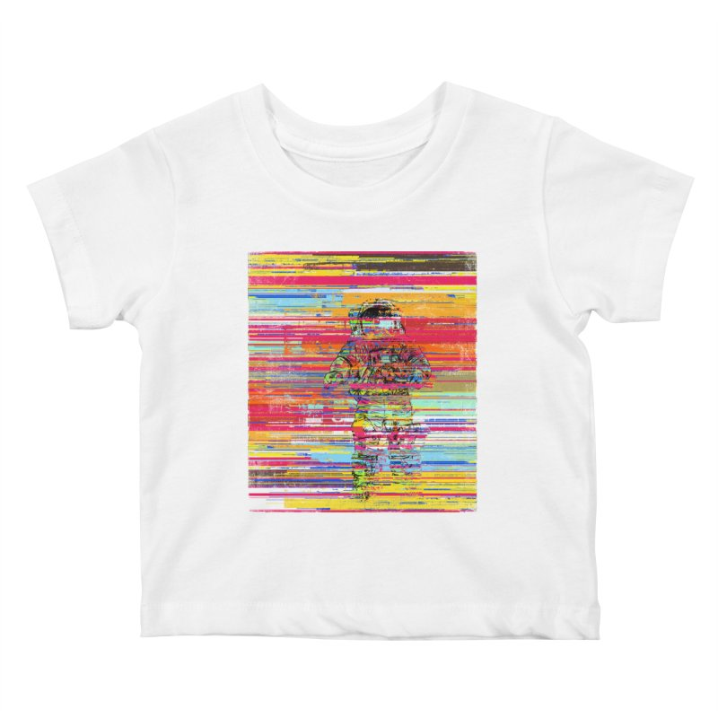 Walk On Moon Kids Baby T-Shirt by bulo