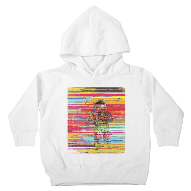 Walk On Moon Kids Toddler Pullover Hoody by bulo