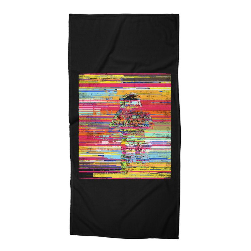 Walk On Moon Accessories Beach Towel by bulo
