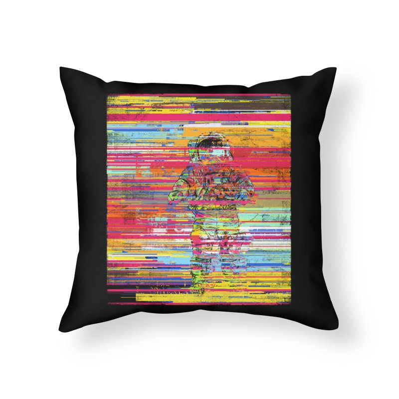 Walk On Moon Home Throw Pillow by bulo