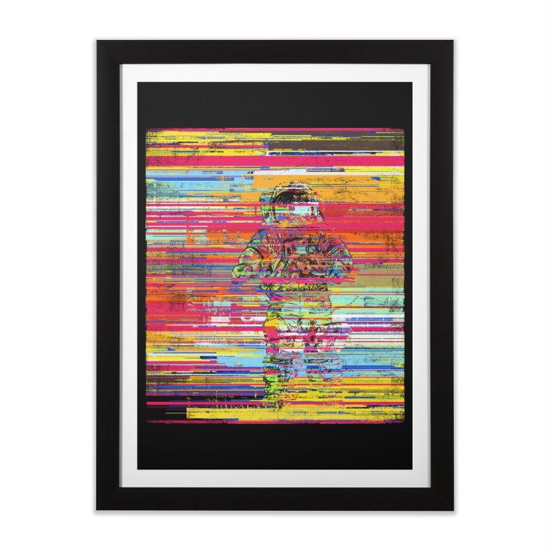 Walk On Moon Home Framed Fine Art Print by bulo