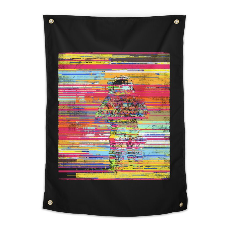 Walk On Moon Home Tapestry by bulo