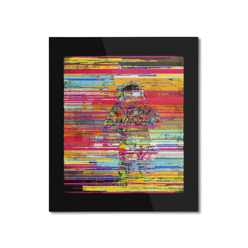 Walk On Moon Home Mounted Aluminum Print by bulo