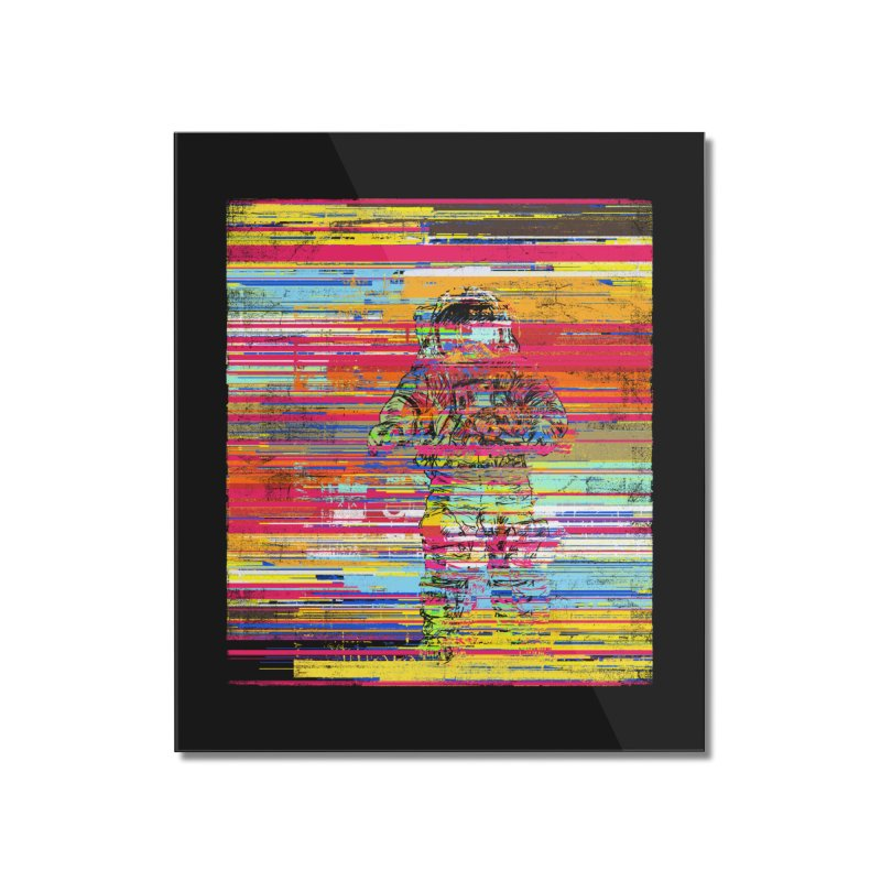 Walk On Moon Home Mounted Acrylic Print by bulo