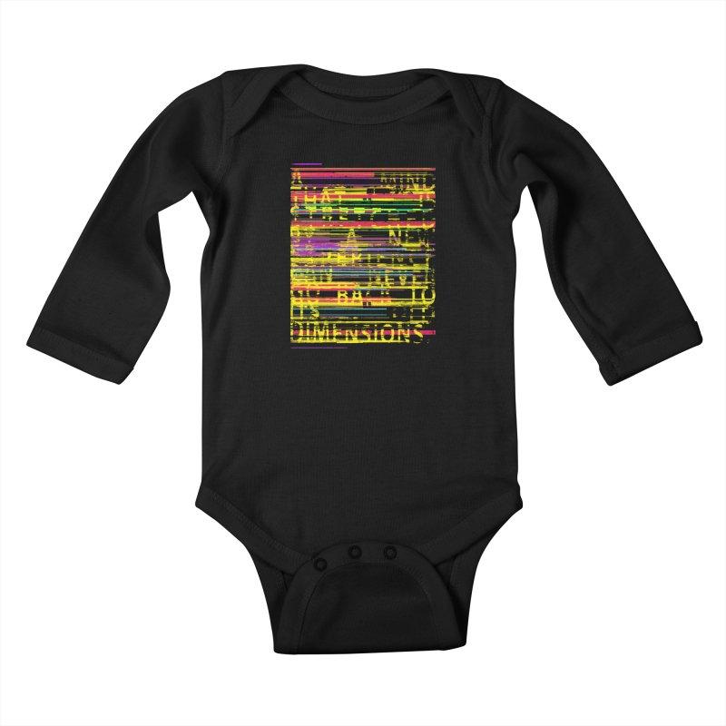 Untitlet Kids Baby Longsleeve Bodysuit by bulo