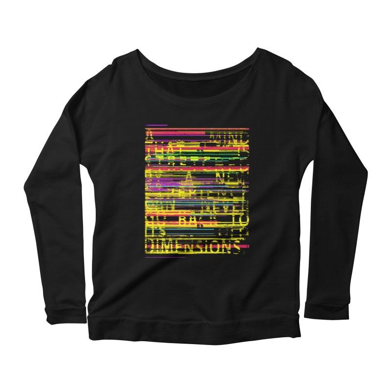 Untitlet Women's Scoop Neck Longsleeve T-Shirt by bulo