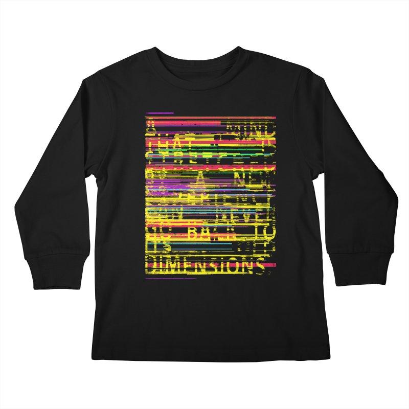 Untitlet Kids Longsleeve T-Shirt by bulo