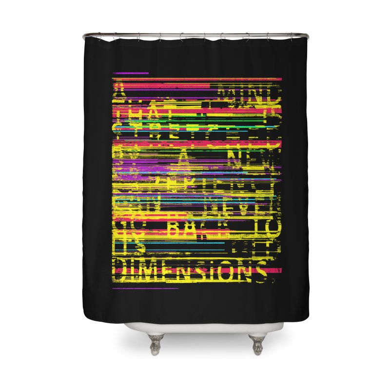 Untitlet Home Shower Curtain by bulo