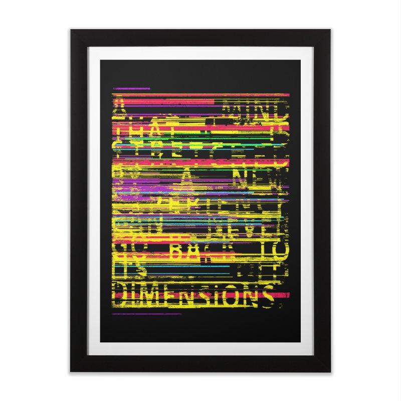 Untitlet Home Framed Fine Art Print by bulo