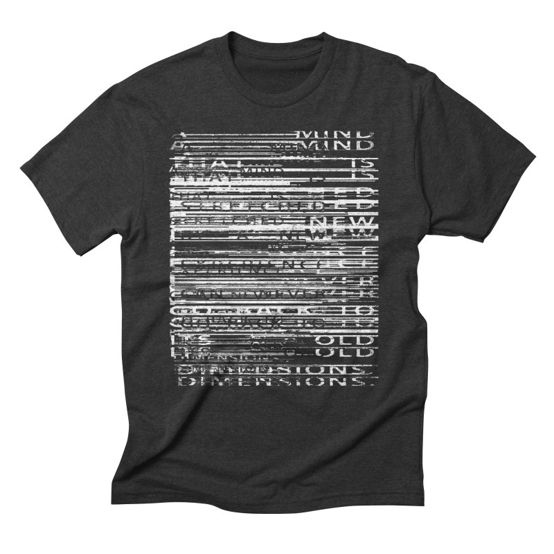 Distortion Men's Triblend T-Shirt by bulo