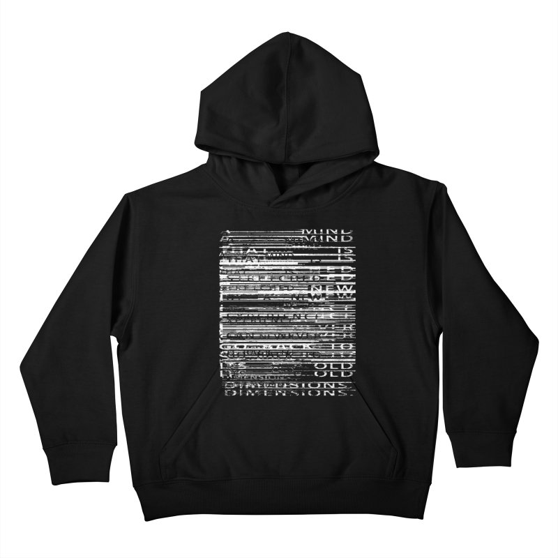 Distortion Kids Pullover Hoody by bulo