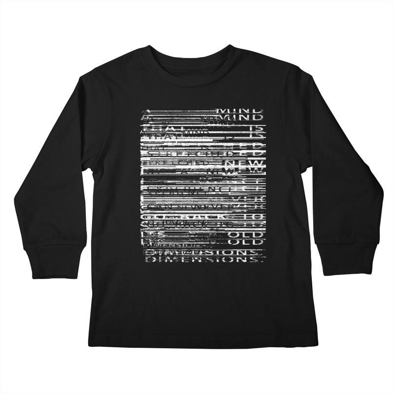 Distortion Kids Longsleeve T-Shirt by bulo