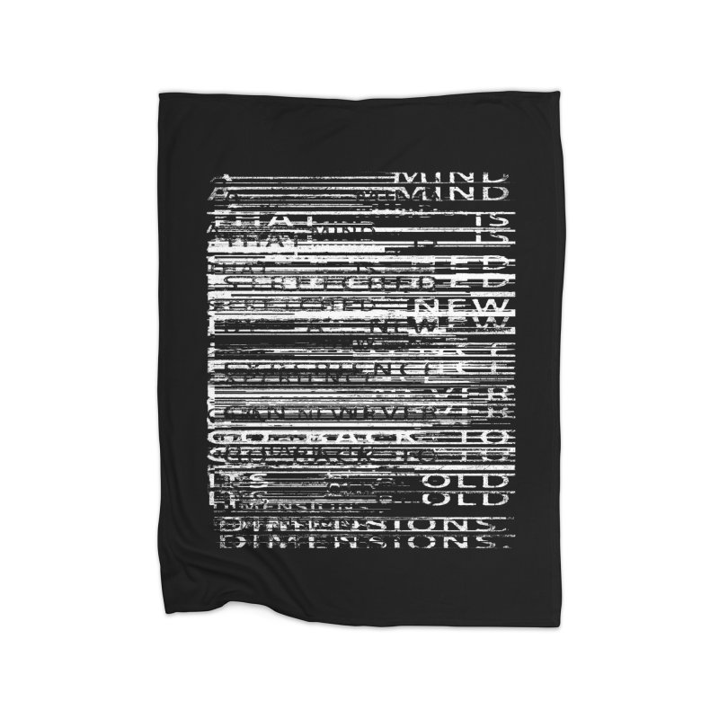 Distortion Home Blanket by bulo