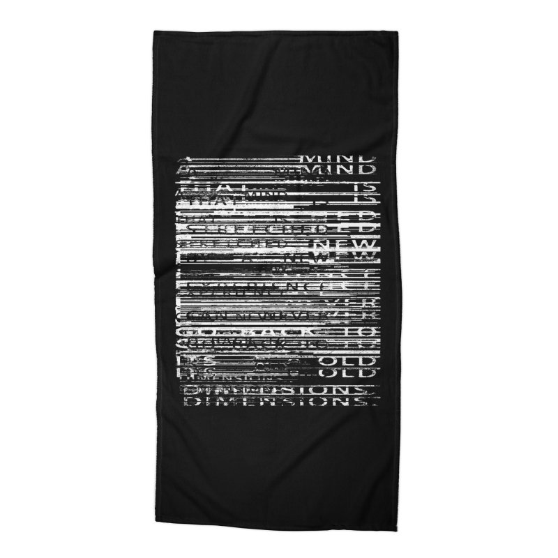 Distortion Accessories Beach Towel by bulo