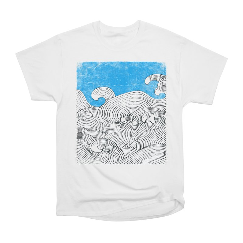 Waves Women's Heavyweight Unisex T-Shirt by bulo